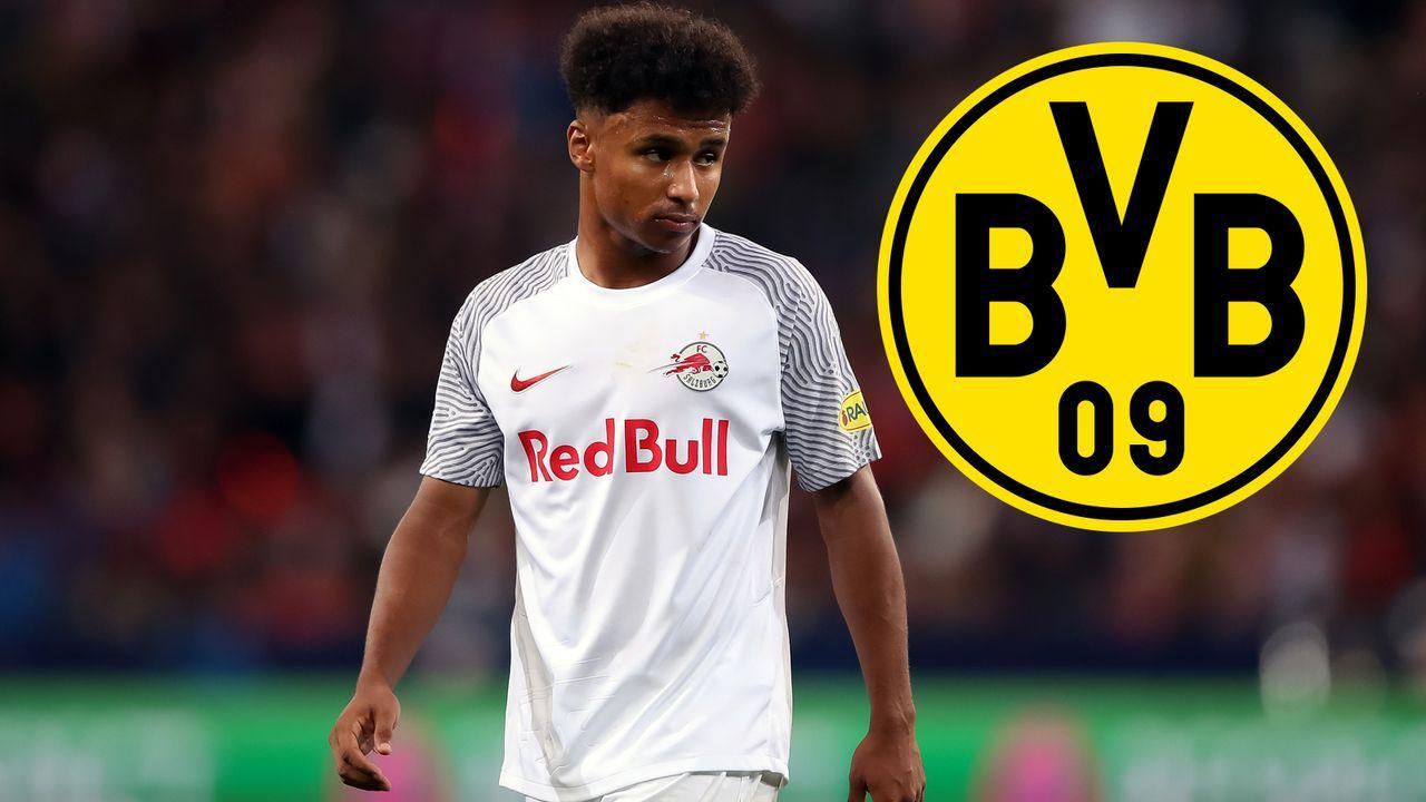 Karim Adeyemi (Red Bull Salzburg) - Bildquelle: Getty Images