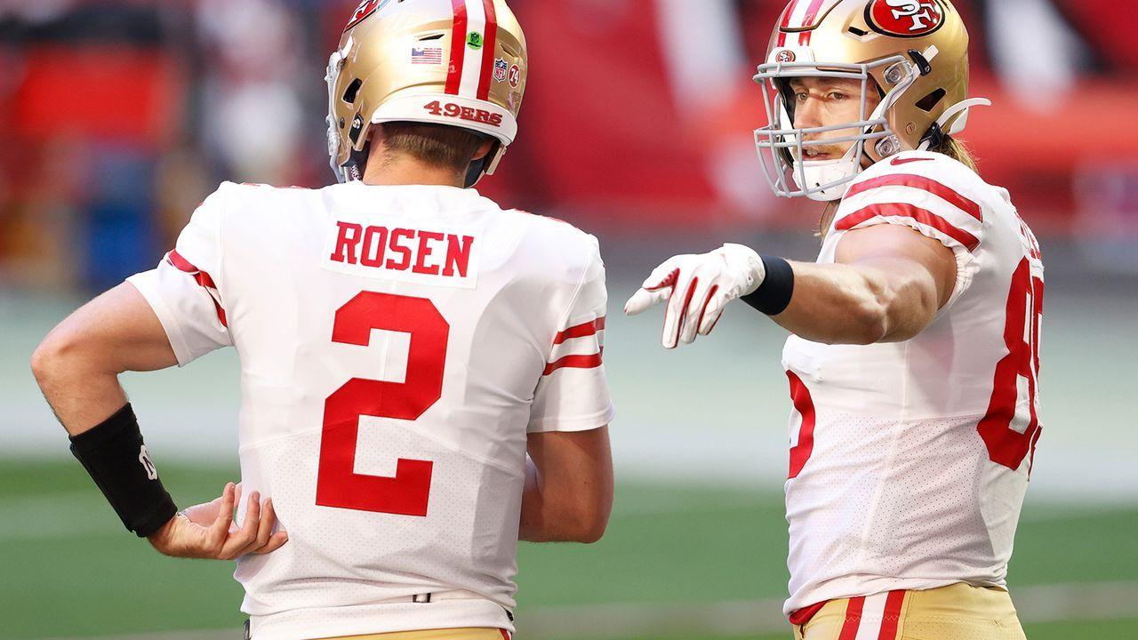 Josh Rosen (10. Pick, San Francisco 49ers, gedraftet von: Arziona Cardinals) - Bildquelle: Getty