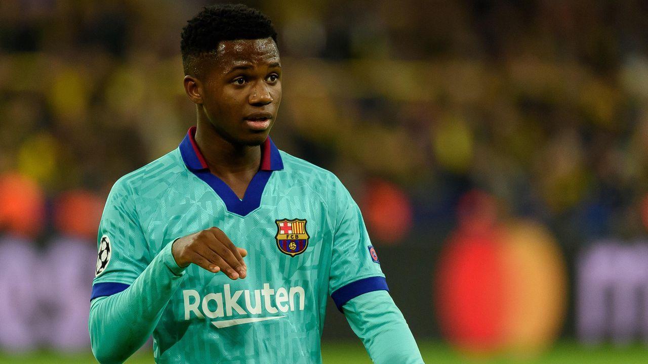 Ansu Fati (FC Barcelona) - Bildquelle: imago