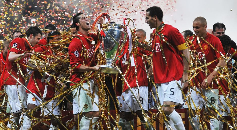 Platz 4: Manchester United - Bildquelle: 2008 Getty Images