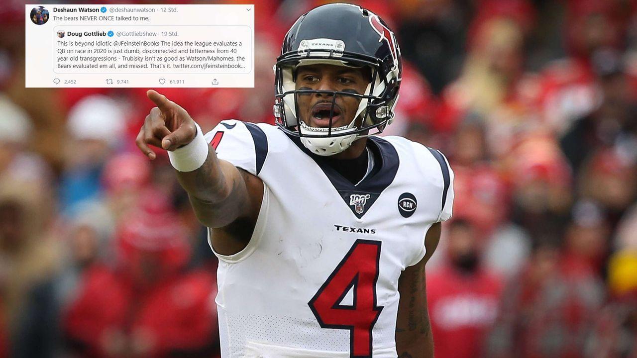"""Deshaun Watson: """"Die Bears haben nicht einmal mit mir gesprochen""""  - Bildquelle: imago/twitter:@deshaunwatson"""