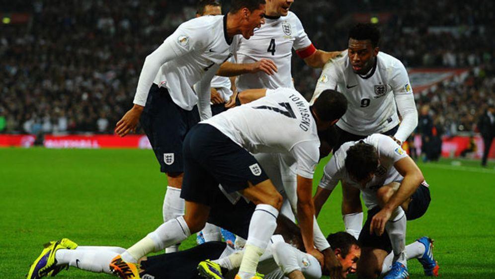 In Gruppe D treffen am dritten EM-Spieltag Tschechien und England aufeinande... - Bildquelle: England