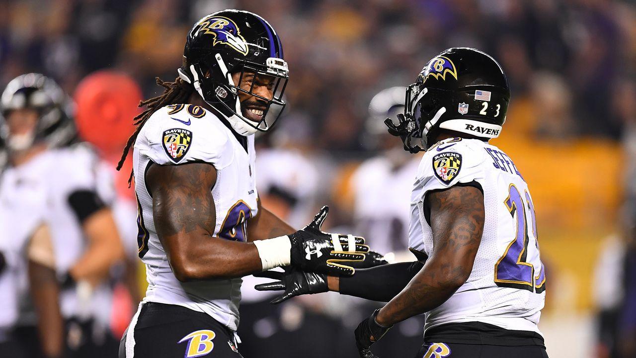 21. Duell: Ravens beenden Steelers-Serie - Bildquelle: 2018 Getty Images