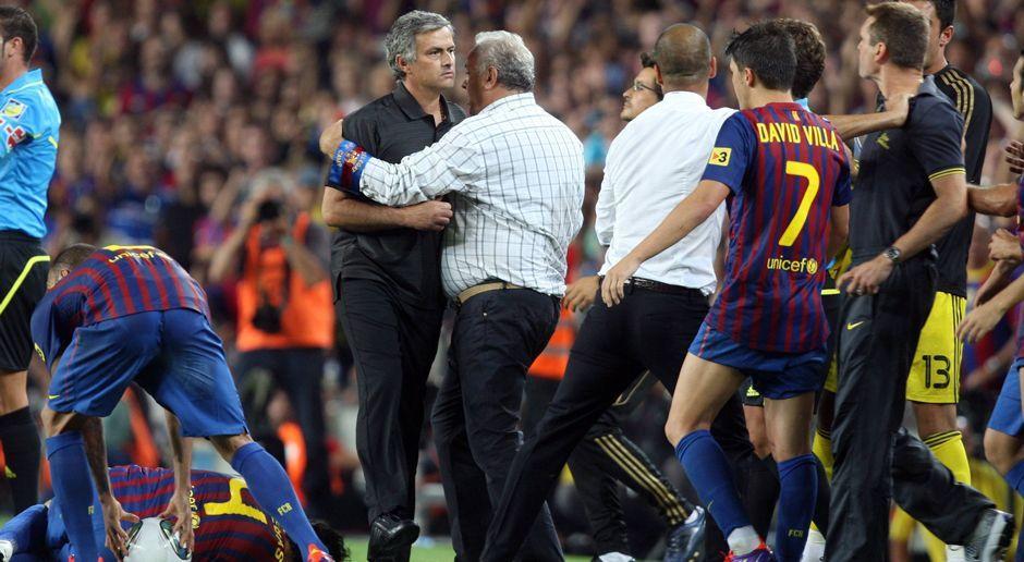 Mourinho und Guardiola - eine eigenartige Beziehung - Bildquelle: imago sportfotodienst