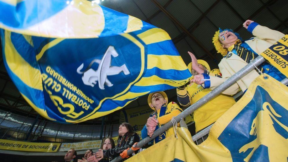 Zwangsabstieg für den FC Sochaux - Bildquelle: AFPSIDSEBASTIEN BOZON