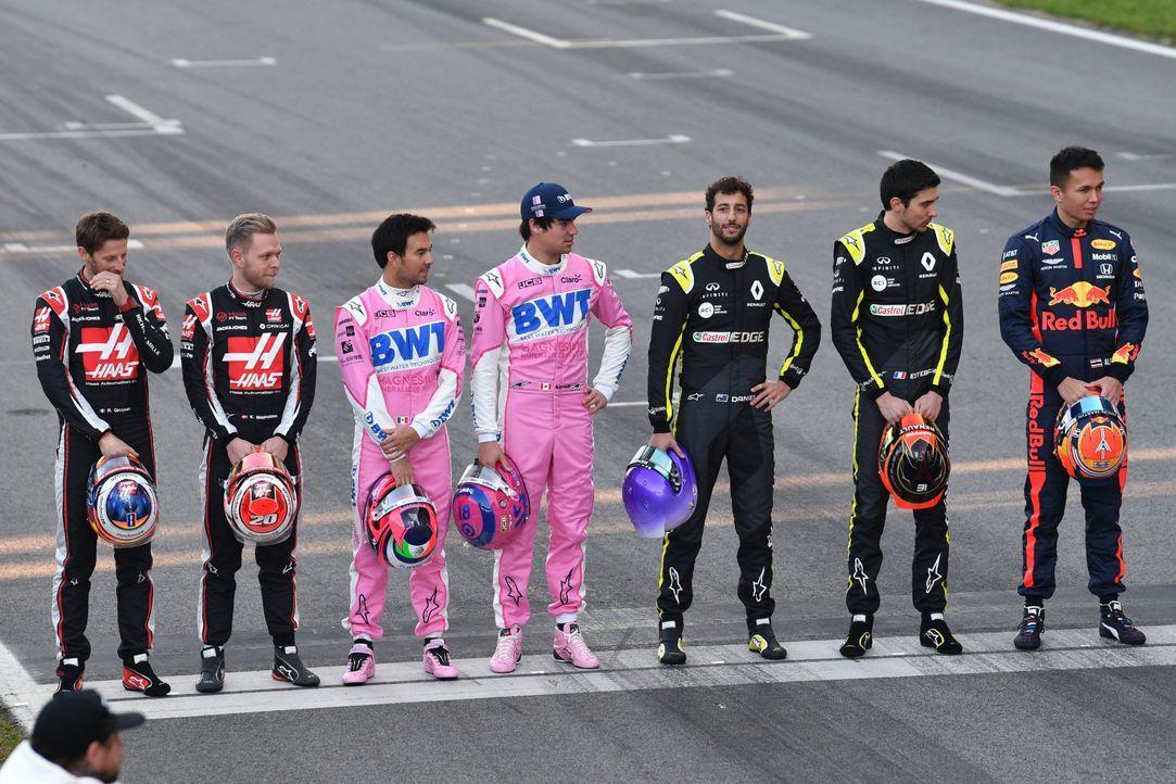 Die Helme der F1-Fahrer 2020 - Bildquelle: imago