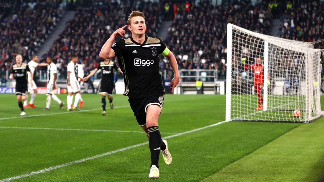Abwehr: Matthijs de Ligt (Ajax Amsterdam) - Bildquelle: 2019 Getty Images
