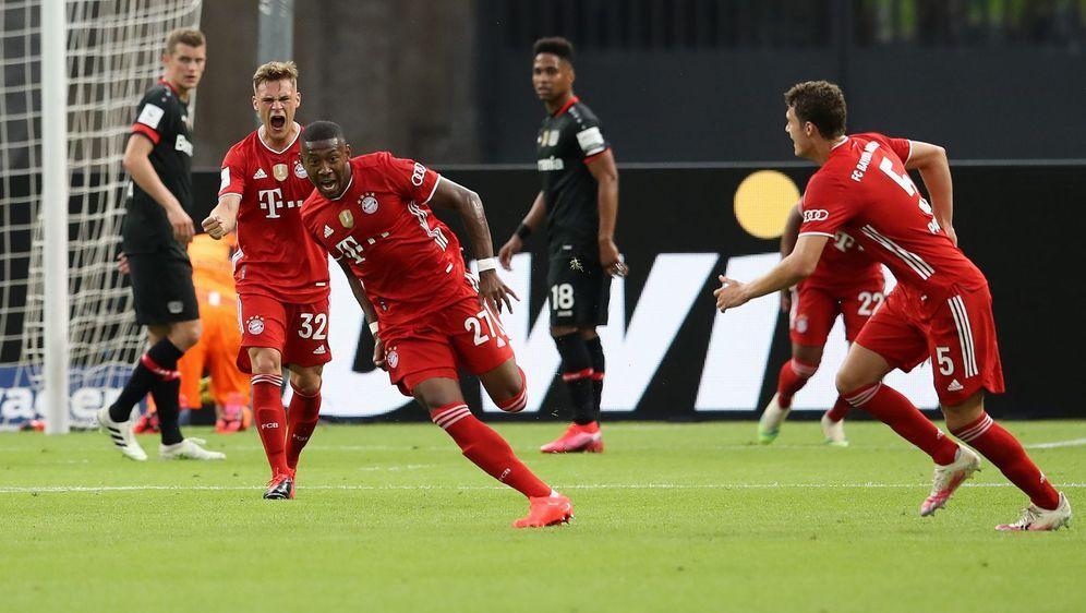Schoss Bayern in Führung: David Alaba. - Bildquelle: Getty