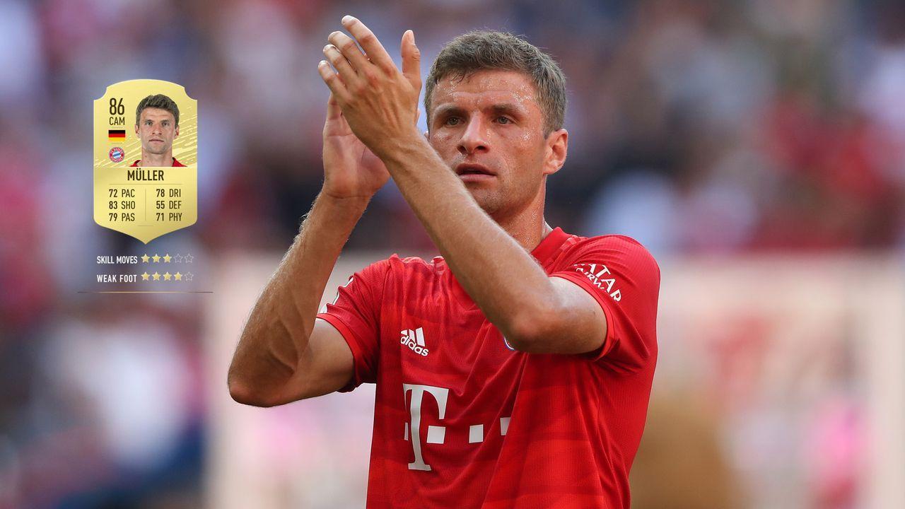 57. Thomas Müller (FC Bayern München)  - Bildquelle: 2019 Getty Images