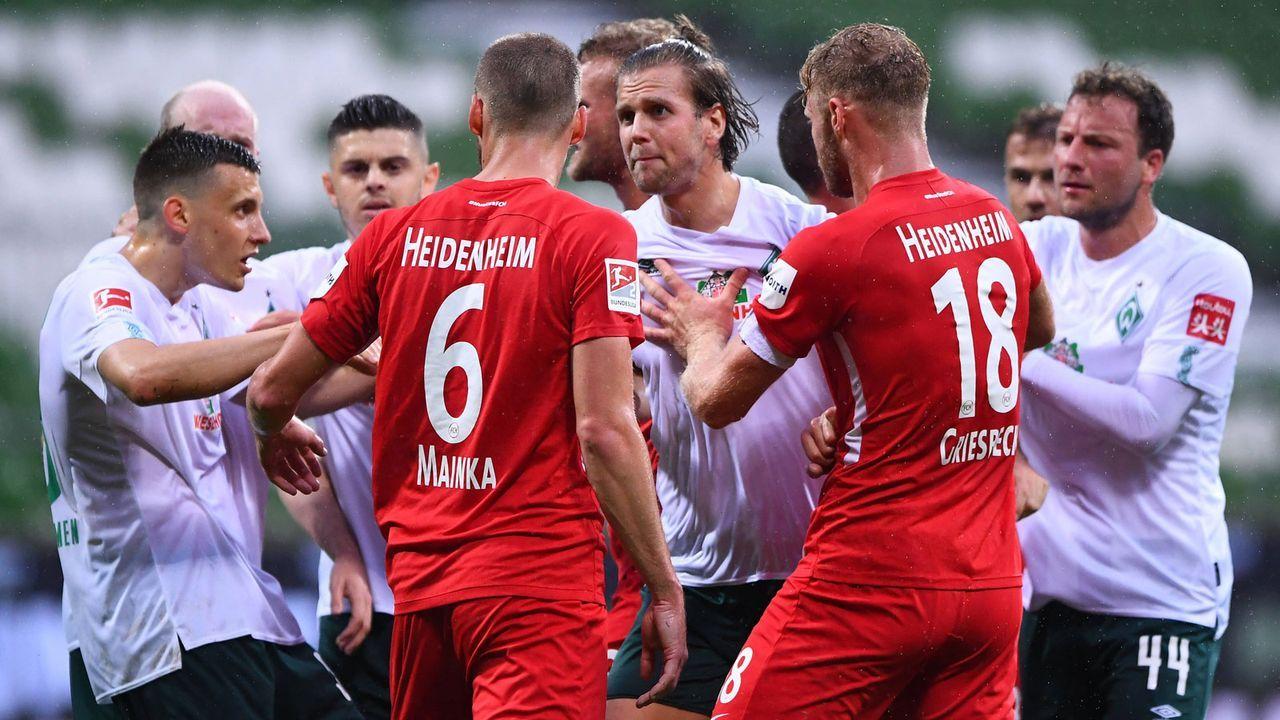 Relegationsrückspiel: Was spricht für Bremen? Was für Heidenheim? - Bildquelle: imago