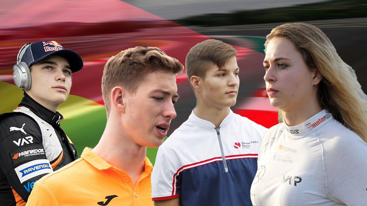 Die deutschen Talente der Formel 3 und ihre schärfste Konkurrenz - Bildquelle: Imago/Getty Images