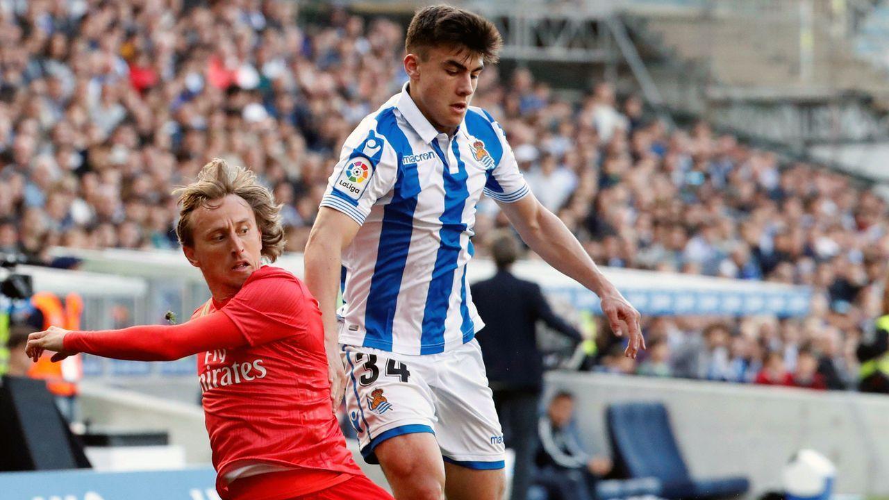 La Liga: Ander Barrenetxea (Real Sociedad San Sebastian/Spanien) - Bildquelle: imago images / Agencia EFE