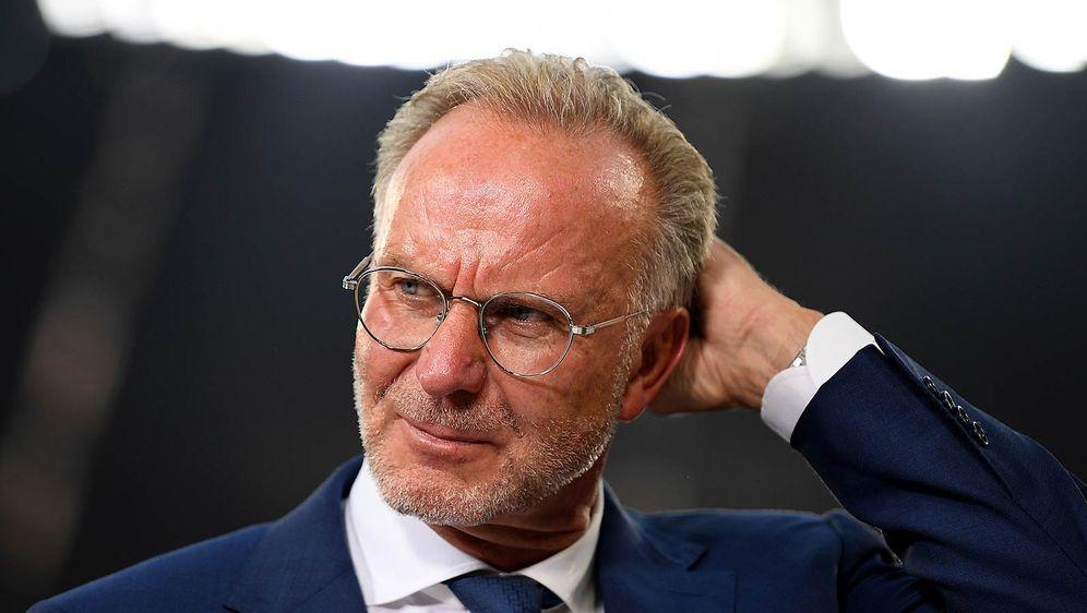 """Bayerns Vorstandsboss Karl-Heinz Rummenigge war """"not amused"""" über die Leistu... - Bildquelle: getty"""