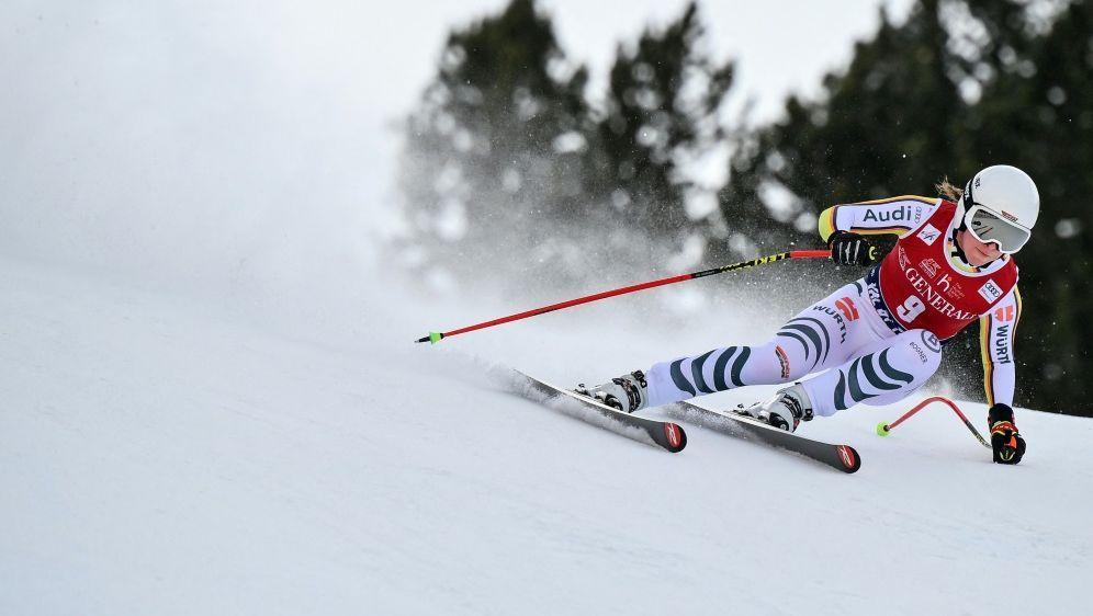 Kira Weidle verpasst in Val di Fassa die Top 15 - Bildquelle: AFPSIDMARCO BERTORELLO