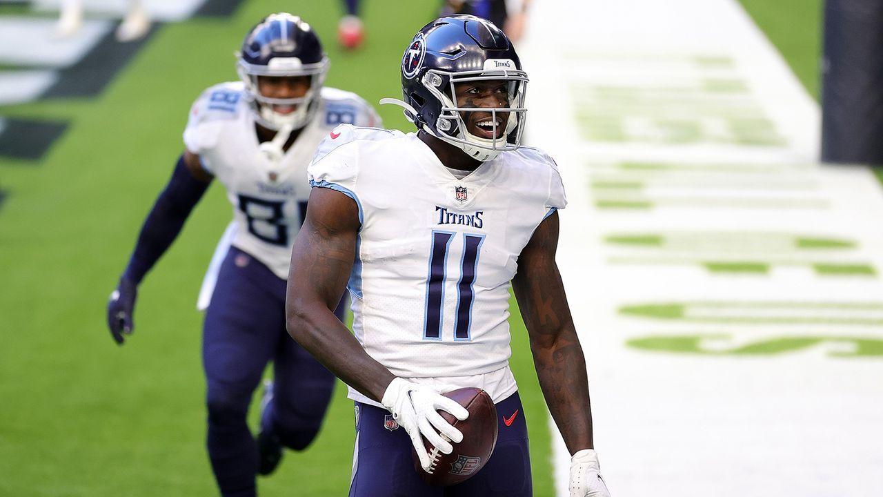 9. Platz: A.J. Brown (Wide Receiver, Tennessee Titans) - Bildquelle: Getty Images
