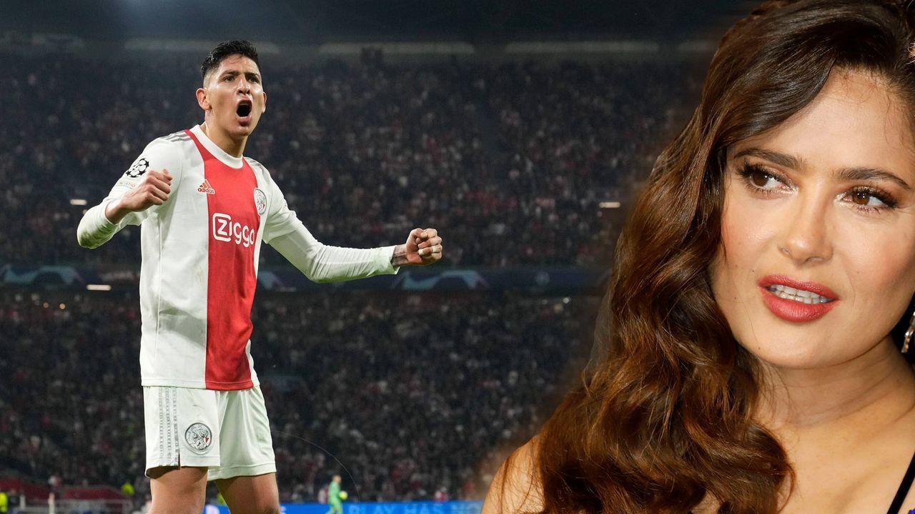 Ajax-Star Alvarez gibt Hollywood-Star Salma Hayek einen Korb - Bildquelle: 2021 imago