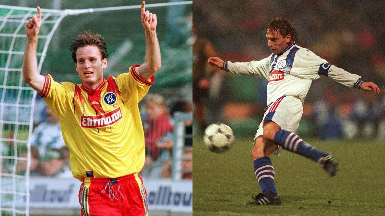 Thomas Häßler und Markus Schroth (Karlsruher SC) - Bildquelle: Getty Images und Imago Images