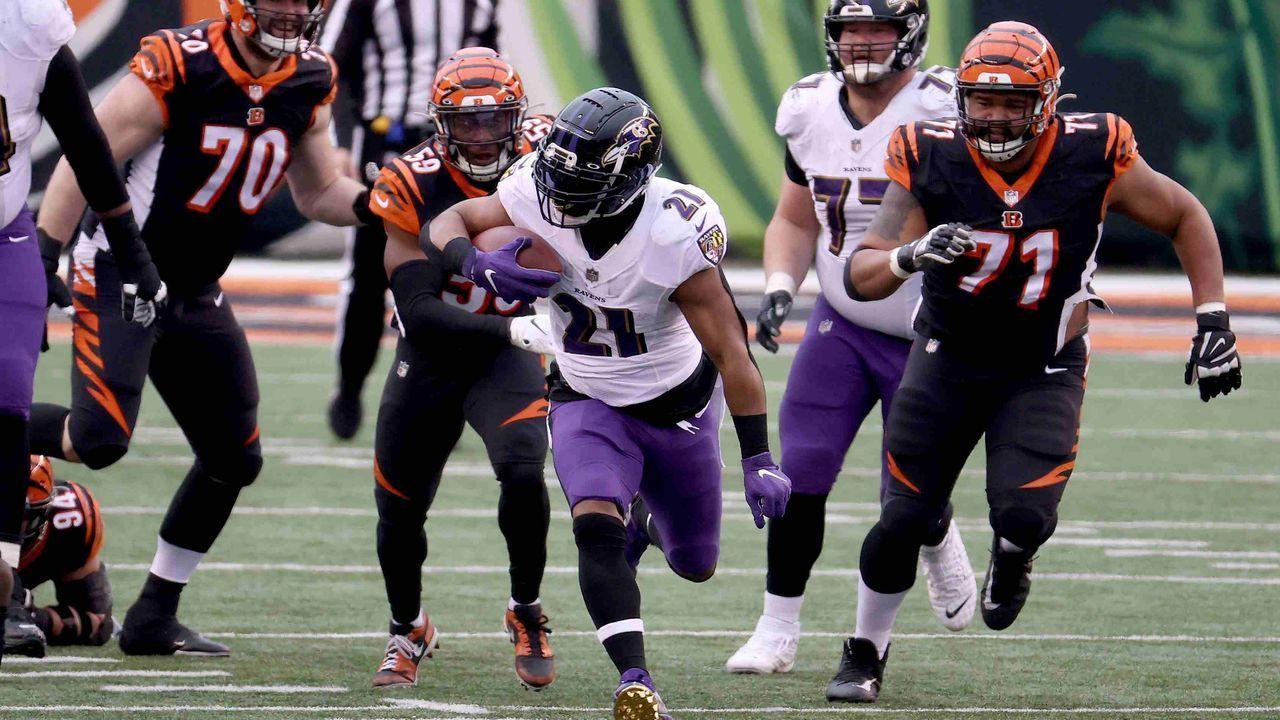 3. Platz: Baltimore Ravens - 63,5 Prozent Erfolgsquote - Bildquelle: getty