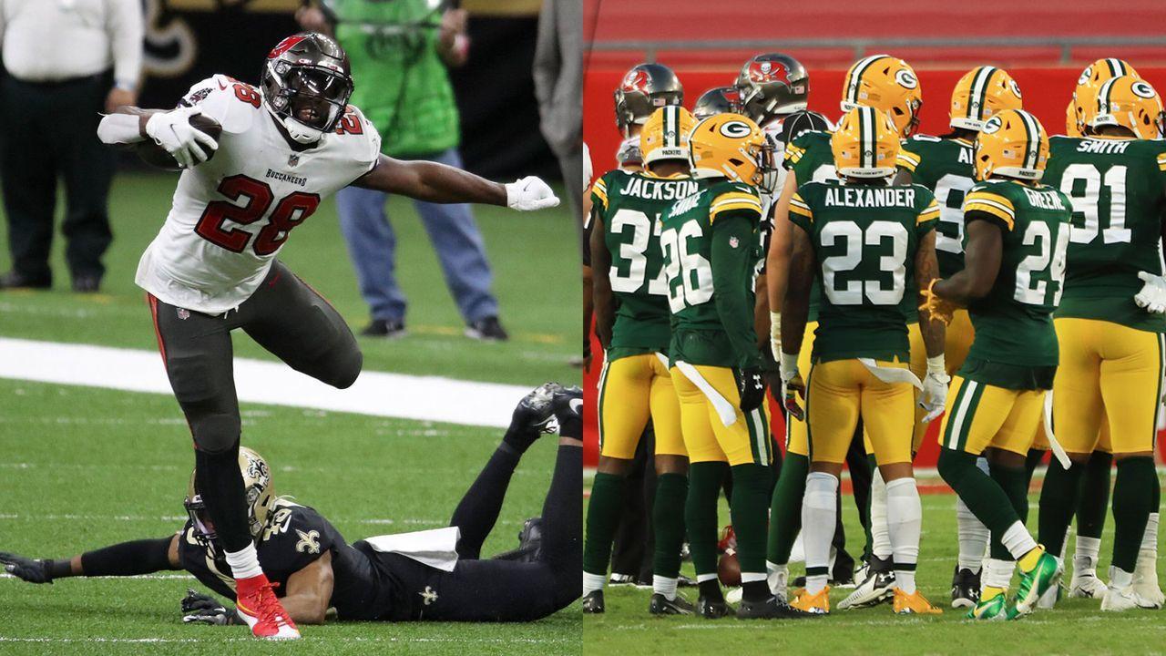 Buccaneers at Packers: Leonard Fournette und Ronald Jones vs. Packers-Defense - Bildquelle: imago images/Getty Images