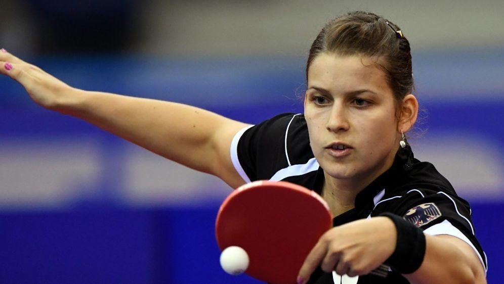Im Mixed-Wettbewerb im Halbfinale: Petrissa Solja - Bildquelle: AFPSIDATTILA KISBENEDEK