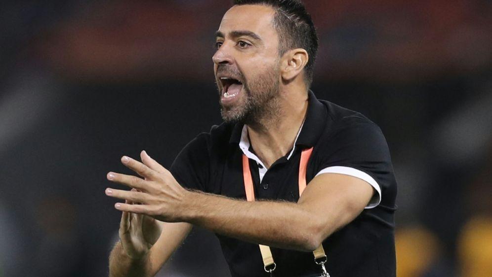 Xavi bleibt Trainer von Al-Sadd - Bildquelle: AFPSIDKARIM JAAFAR