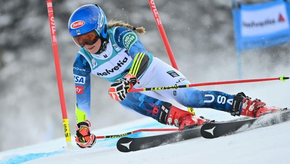 Halbzeit-Führung beim Weltcup-Finale: Mikaela Shiffrin - Bildquelle: AFPSIDFabrice COFFRINI