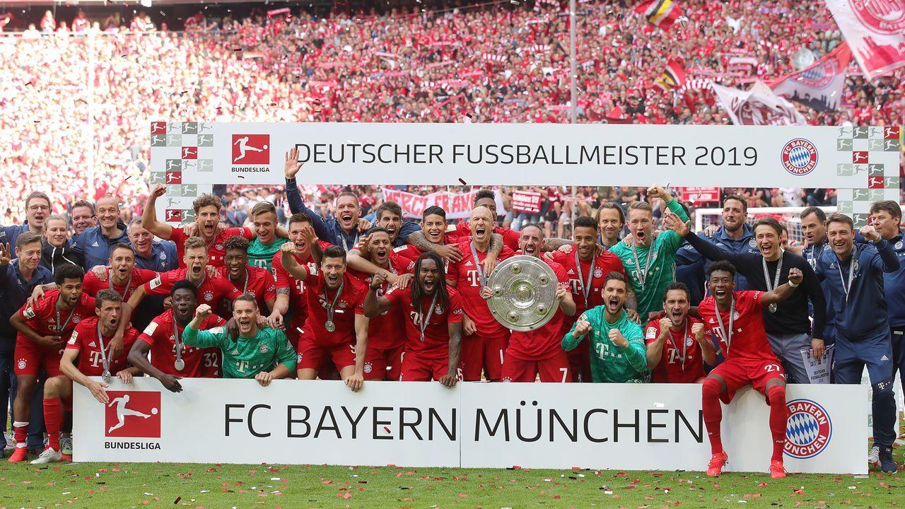Topf 1: FC Bayern München - Bildquelle: 2019 Getty Images