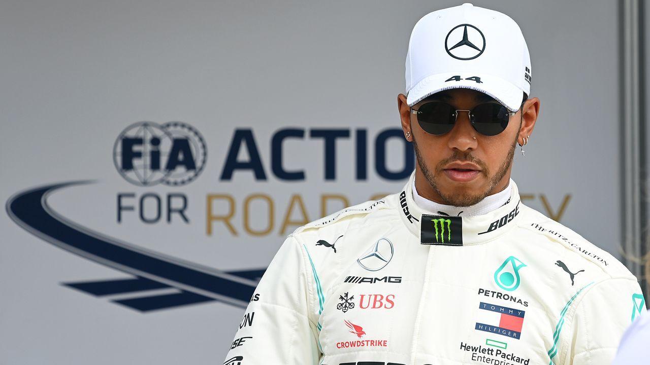 Platz 13 - Lewis Hamilton (Motorsport) - Bildquelle: 2020 Getty Images