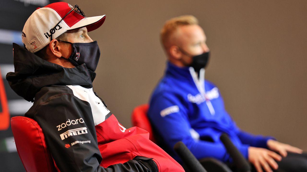 Kimi Räikkönen (Alfa Romeo) - Bildquelle: imago