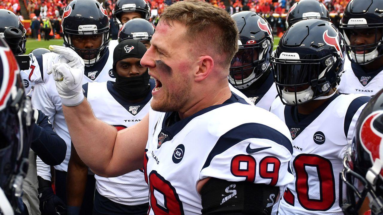 Houston Texans: J.J. Watt (Defense) - Bildquelle: 2020 Getty Images