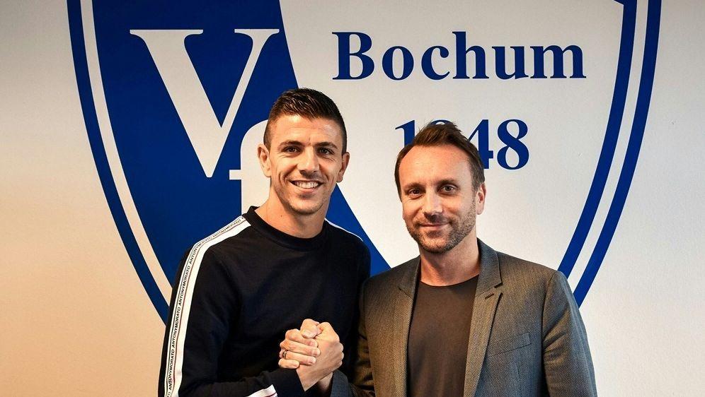 Anthony Losilla verlängert in Bochum bis 2021 - Bildquelle: VfL Bochum 1848VfL Bochum 1848SID