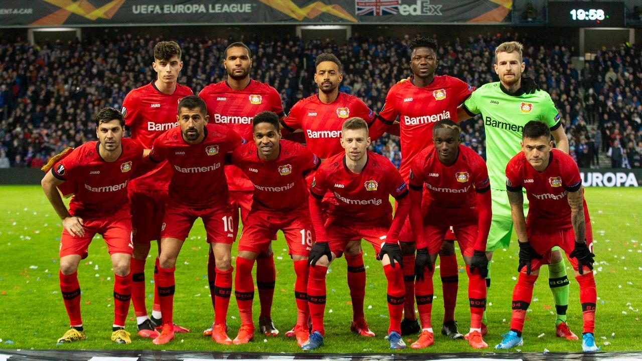 Bayer 04 Leverkusen - Bildquelle: imago images/Colorsport