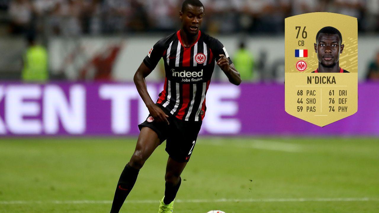 3. Evan N'Dicka (Eintracht Frankfurt) - Bildquelle: 2019 Getty Images