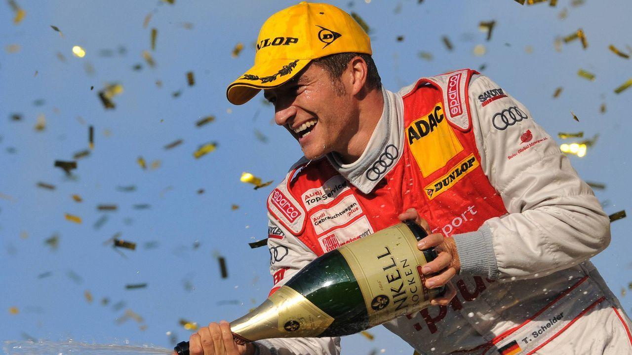 2009: Timo Scheider - Bildquelle: imago sportfotodienst