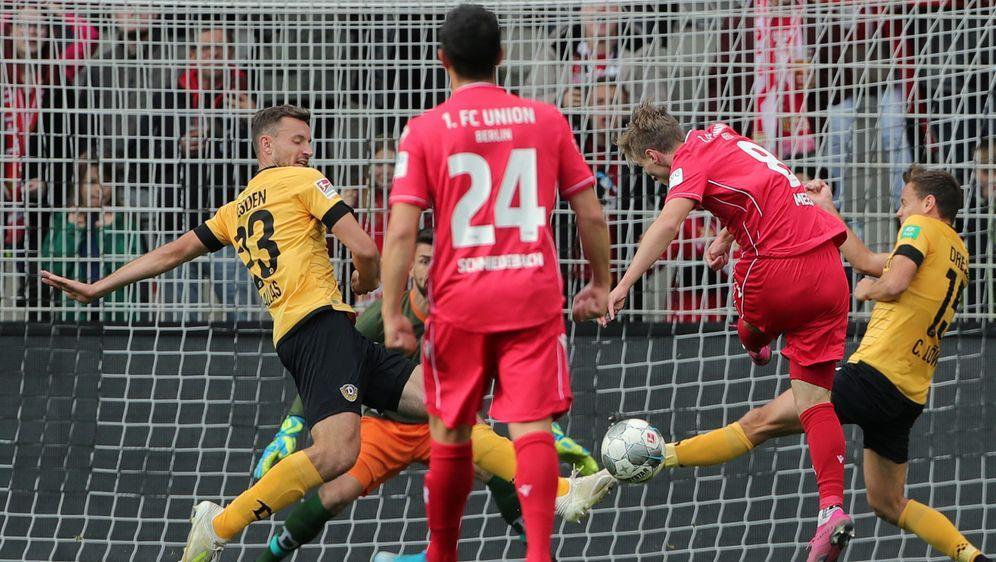 Union nur 0:0 gegen Dynamo Dresden - Bildquelle: imago