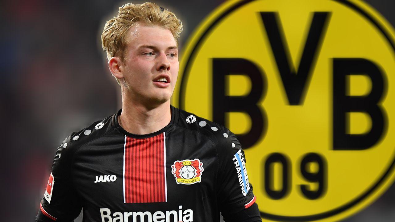 Julian Brandt (Borussia Dortmund)  - Bildquelle: 2019 Getty Images