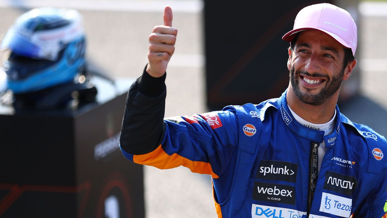 Gewinner: Daniel Ricciardo - Bildquelle: 2021 Getty Images