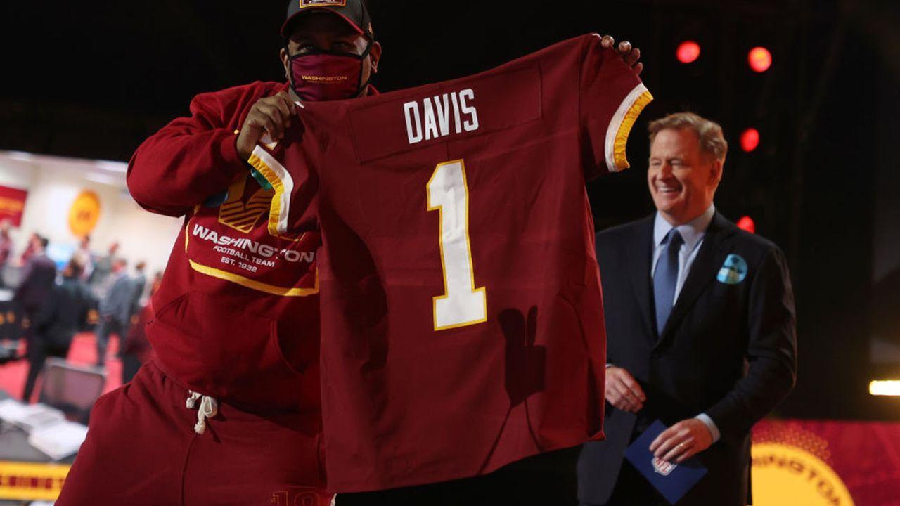 Jamin Davis (Linebacker/Washington Football Team) - Bildquelle: 2021 Getty Images