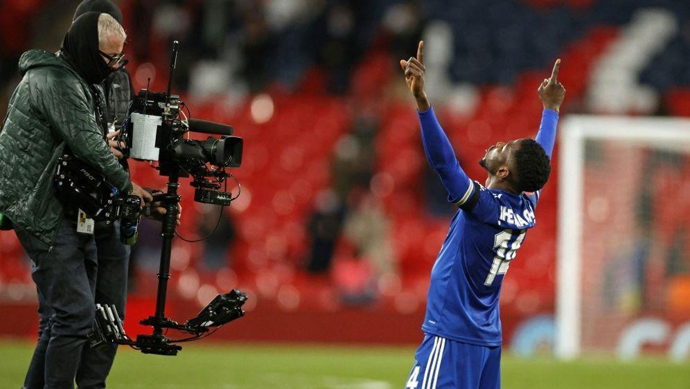 Kelechi Iheanacho schießt Leicester ins FA-Cup-Finale - Bildquelle: AFPPOOLSIDJOHN SIBLEY