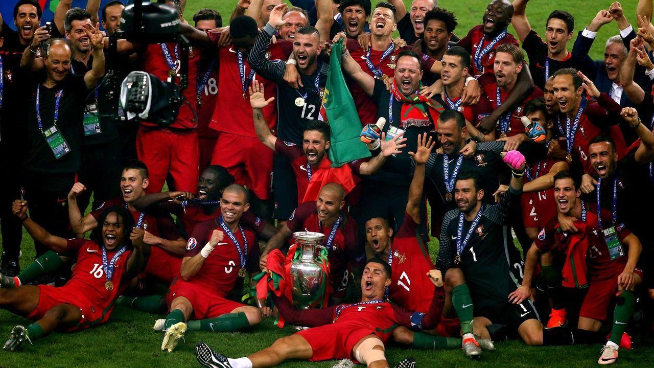 Platz 7: Portugal (zwei Final-Teilnahmen) - Bildquelle: getty