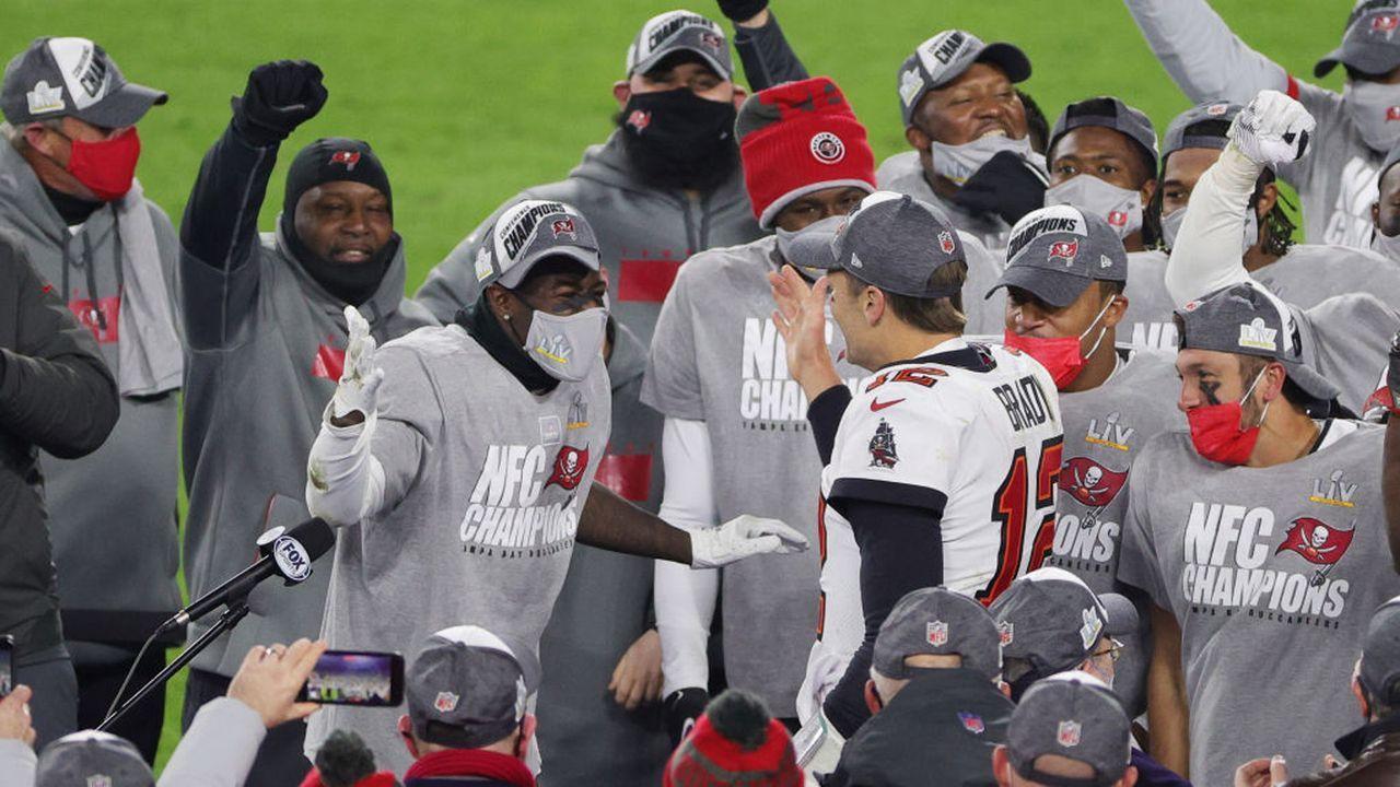 Tampa Bay Buccaneers spielen als erstes Team den Super Bowl daheim - Bildquelle: 2021 Getty Images