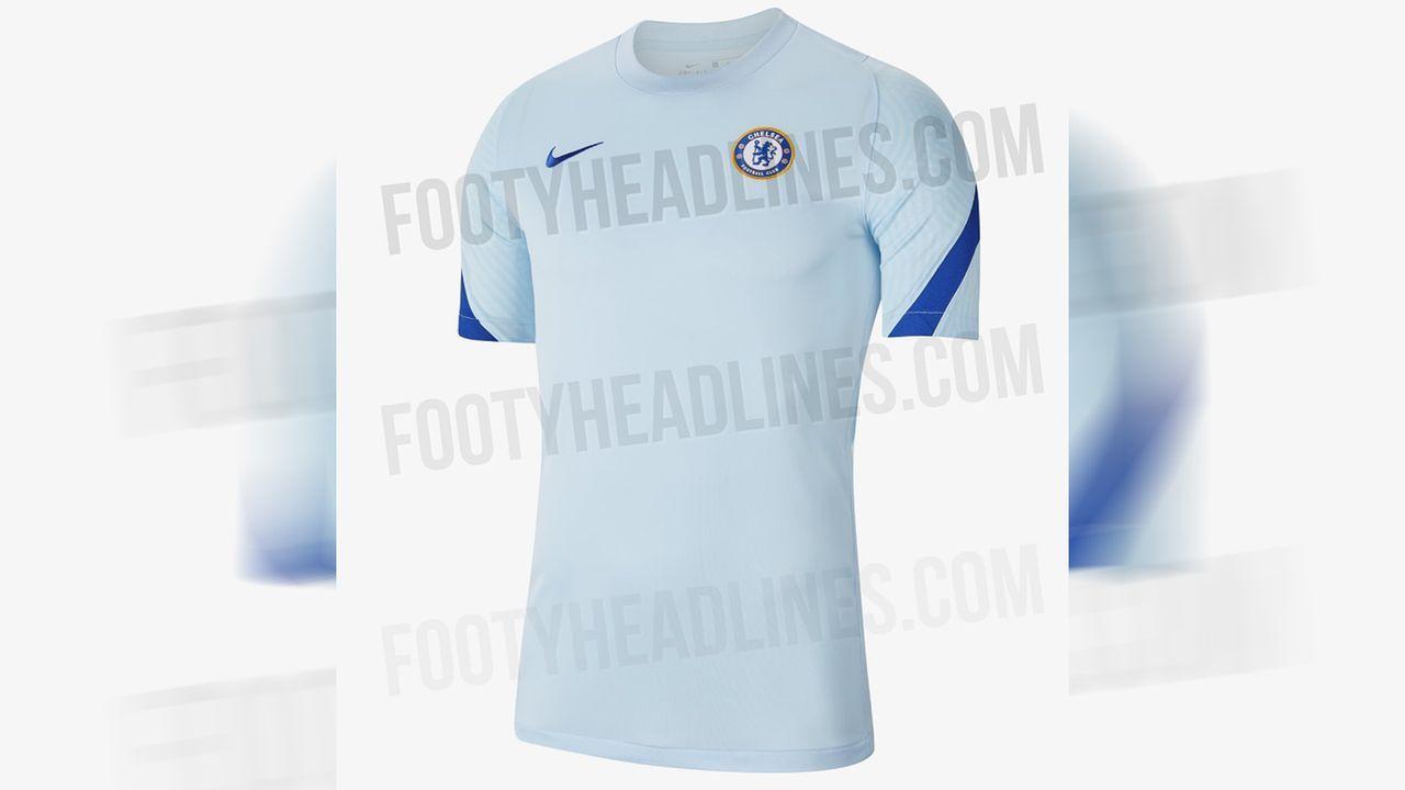 FC Chelsea (Auswärtstrikot) - Bildquelle: twitter@Footy_Headlines