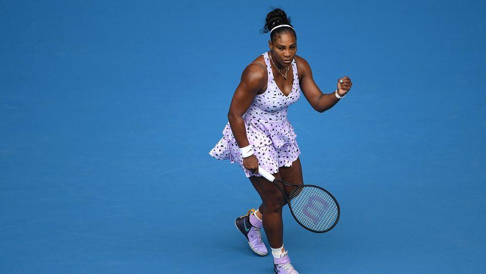 Serena Williams mit Auftaktsieg bei den Australian Open. - Bildquelle: SID