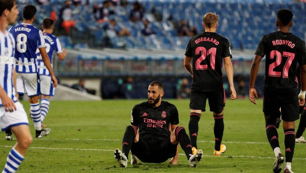 Real Madrid startet mit einem enttäuschenden Ergebnis in die Saison - Bildquelle: imago images/Agencia EFE