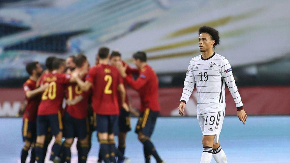 Leroy Sane sieht 0:6 gegen Spanien als Ausrutscher - Bildquelle: FIROFIROSID