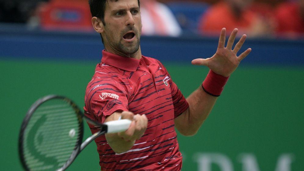 Djokovic musste eine starke Serie beenden - Bildquelle: AFPSIDNOEL CELIS