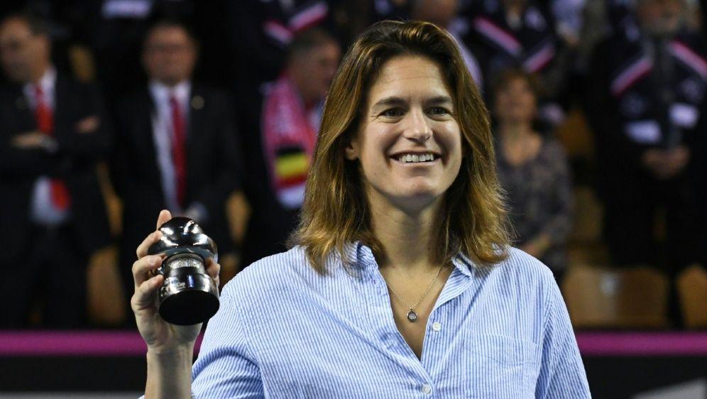 Amelie Mauresmo wird Trainerin von Lucas Pouille - Bildquelle: AFPSIDJEAN-FRANCOIS MONIER