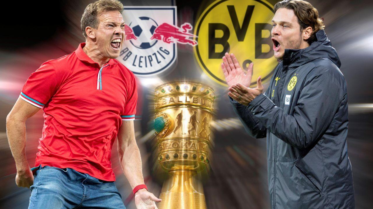 Nagelsmann vs. Terzic: Das Trainer-Duell im Pokalfinale - Bildquelle: imago images/Sven Simon