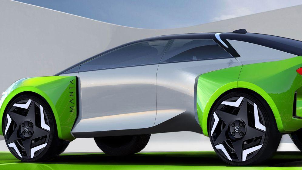 Sieht so der neue Manta-e aus? - Bildquelle: Opel Automobile GmbH