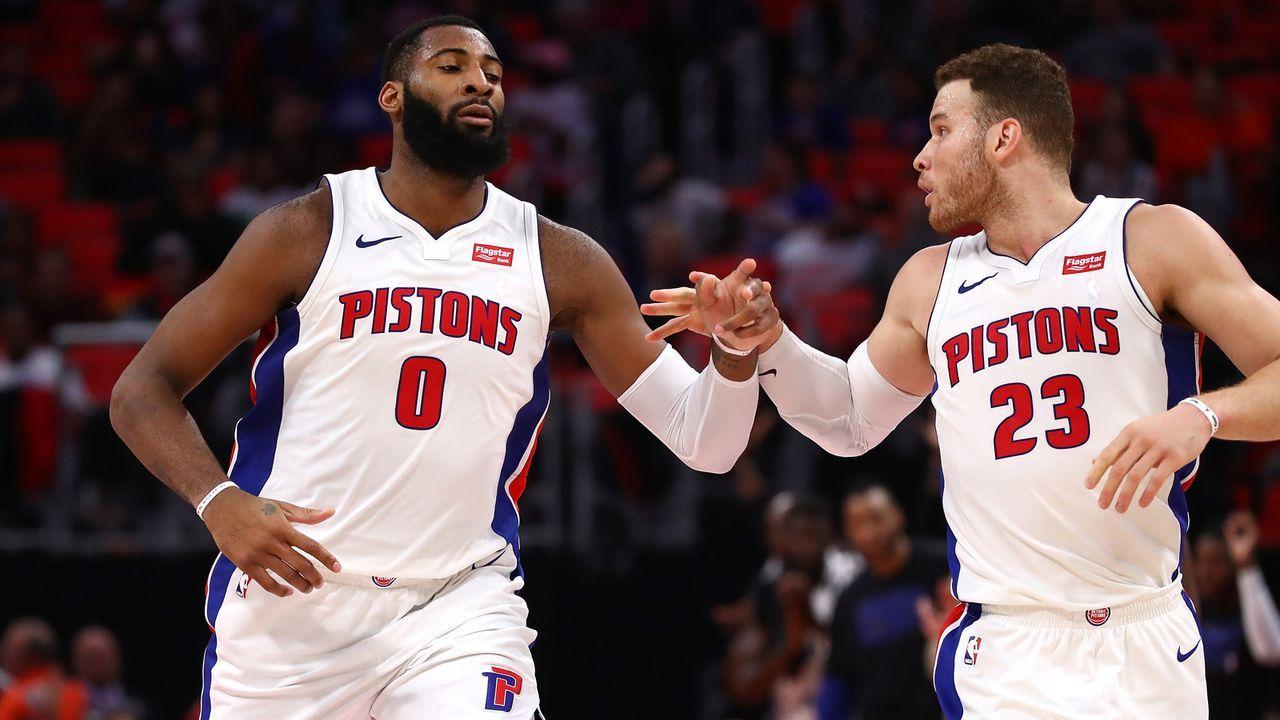 8. Platz im Osten: Detroit Pistons - Bildquelle: 2018 Getty Images